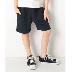 [マルイ]【セール】子供服 キッズ 韓国子供服 裏毛スウェットハーフパンツ 男の子 女の子 ズボン 100-160/デビロック(devirock)