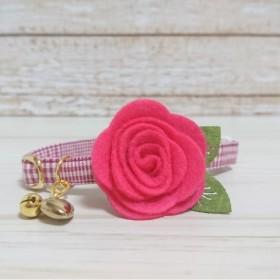 cute rose [ 猫の首輪 ]