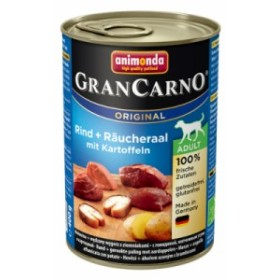 犬用 アニモンダ グランカルノ ウェットフード 【アダルト】 牛肉・アナゴ・野菜 400g×6 【82755】