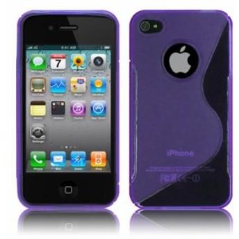 iPhone4 iPhone4S ケース スマホケース TPU グリップ カバー アイフォン 4 docomo au Softbank SIMフリー 対応 薄型 軽量 滑止め ソ