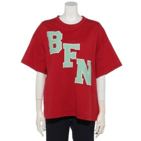 69%OFF DOUBLE NAME (ダブルネーム) BFNメッシュアップリケTEE 赤