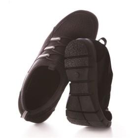 ぐんぐん歩けるウォーキングシューズ - セシール ■カラー:ブラック ■サイズ:M(23.0-23.5cm),S(22.0-22.5cm)