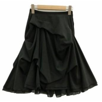 美品 フォクシーニューヨーク スプラッシュスカート レディース SIZE 38 (S) FOXEY NEWYORK 中古