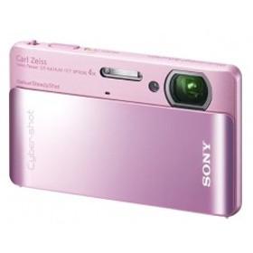 ソニー SONY デジタルカメラ Cybershot TX5 (1020万画素CMOS/光学x4/ピンク) DSC-TX5/P 中古 良品