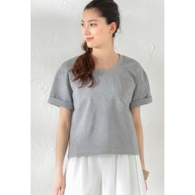 LOVELESS 【LOVELESS】WOMEN はっ水ポケットTシャツ Tシャツ・カットソー,グレー3