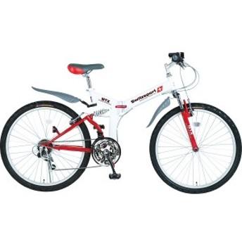【送料無料】4930479099051 スウィツスポート 26型 折りたたみ自転車(LEDライト付)