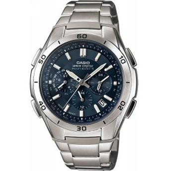 4971850913917 カシオ ソーラー電波 メンズ腕時計 ブルー (包装・のし可)