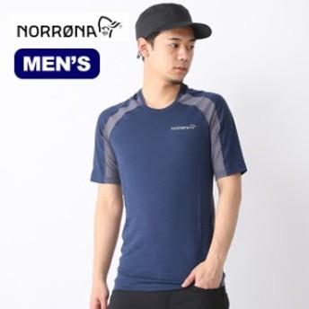 Norrona ノローナ ビィティフォーン ウールTシャツ メンズ