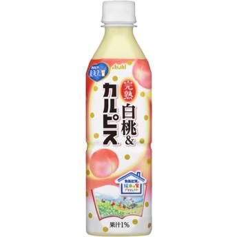 完熟白桃&カルピス (500mL24本入)