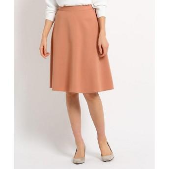 INDIVI ストレッチ台形スカート 2001502083