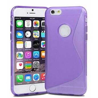 Apple iPhone6 Plus 5.5inch TPU グリップ カバー ケース アイフォン iPhone 6 5.5 インチ 対応 薄型 軽量 24g 滑止め加工 ソフト