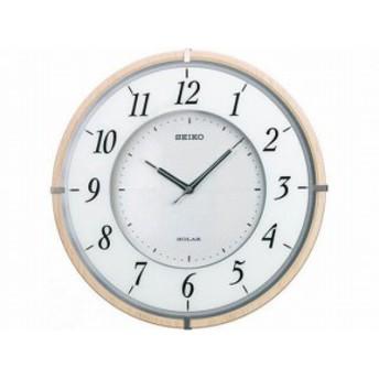 セイコー SEIKO 電波時計 ソーラープラス 掛け時計 SF501B sf501b