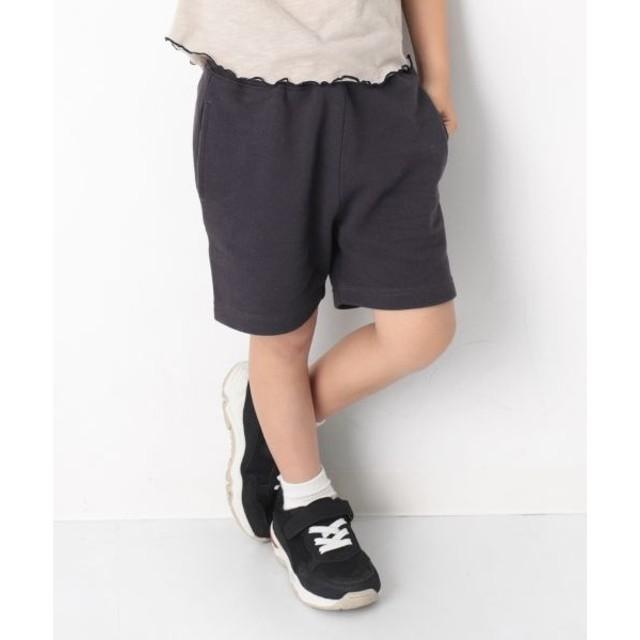 [マルイ] 子供服 キッズ 韓国子供服 裏毛スウェットハーフパンツ 男の子 女の子 ズボン 100-160/デビロック(devirock)