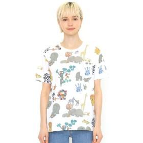 [マルイ]【セール】【ユニセックス】コラボレーションTシャツ/ロストテディパターン(ぞうのエルマー)/グラニフ(graniph)