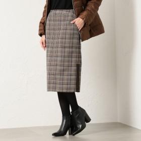 [マルイ]【セール】*eclat掲載*グレンチェックタイトスカート/エヴェックス バイ クリツィア(EVEX by KRIZIA)