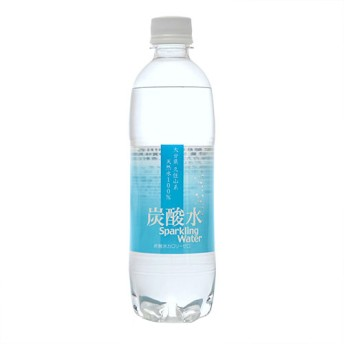 大分久住山系 炭酸水 天然水100% (500mL24本入)