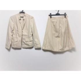 アデュートリステス ADIEU TRISTESSE スカートスーツ サイズ36 S レディース ベージュ 巻きスカート【中古】