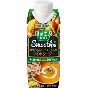野菜生活100 Smoothieかぼちゃとにんじんのソイポタージュ (250g12本入)