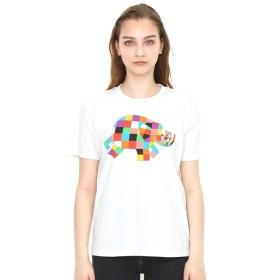 [マルイ] 【ユニセックス】コラボレーションTシャツ/ぞうのエルマーアンドウイルバー(ぞうのエルマー)/グラニフ(graniph)