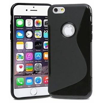 Apple iPhone6 4.7 inch TPU グリップカバーケース アイフォン iPhone 6 4.7 インチ 対応 薄型 軽量 18g 滑止め加工 ソフトフィット