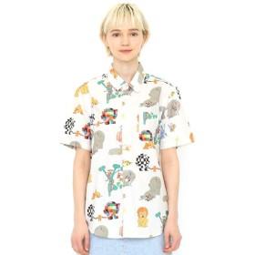 [マルイ]【セール】【ユニセックス】コラボレーションシャツ/ロストテディパターン(ぞうのエルマー)/グラニフ(graniph)