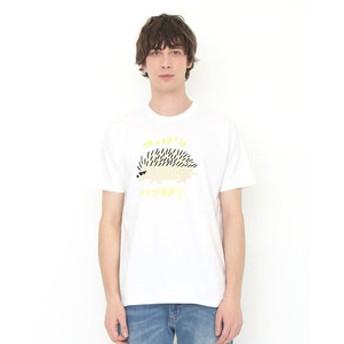 【グラニフ:トップス】グラニフ Tシャツ メンズ レディース 半袖 ツッパリハリネズミ