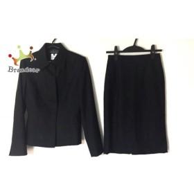 インディビ INDIVI スカートスーツ サイズ36 S レディース 美品 黒   スペシャル特価 20190820