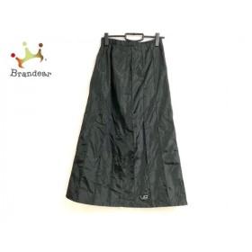 バレンザポースポーツ ロングスカート サイズ40 M レディース 黒 ラインストーン   スペシャル特価 20190810