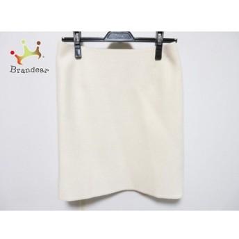 トゥモローランド TOMORROWLAND スカート サイズ38 M レディース アイボリー collection スペシャル特価 20190905