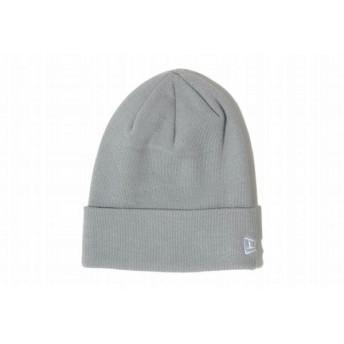 ニューエラ(NEW ERA) Basic Cuff Knit コットン Blend グレー ホワイトフラッグ 11099936