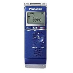 パナソニック ICレコーダー「4GB」 RR‐XS360A (ブルー)