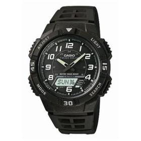 カシオ CASIO スタンダード ソーラー メンズ アナデジ 腕時計 AQ-S800W-1BJF ブラック