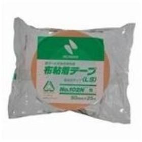 (まとめ買い)ニチバン カラー布テープ 102N-50 50mm×25m 橙 【×10セット】