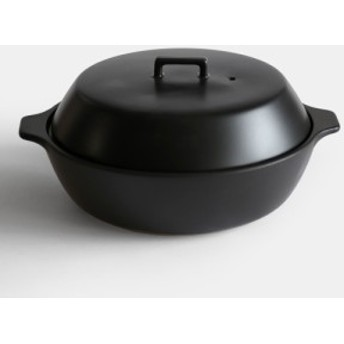 KINTO / KAKOMI IH土鍋2.5L(BK) 【キントー/囲み土鍋/調理鍋/ブラック】[112581
