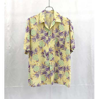 <URU/ウル> アロハシャツ YELLOW 【三越・伊勢丹/公式】