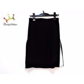 ドレステリア DRESSTERIOR スカート サイズ36 S レディース 黒×白 新着 20190524
