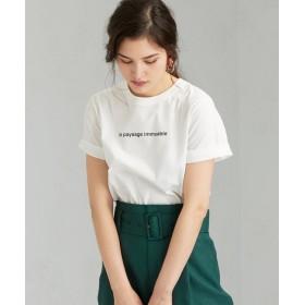 グリーンレーベルリラクシング FFC テンジク プリント Tシャツ レディース OFFWHITE FREE 【green label relaxing】