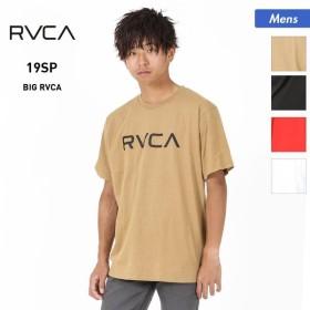 RVCA/ルーカ メンズ 半袖 Tシャツ ティーシャツ トップス クルーネック ロゴ AJ041-233