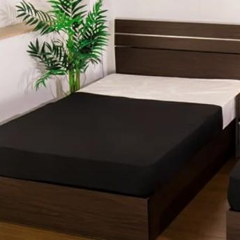 ベッド シングル ホテルスタイルベッド 二つ折りボンネルコイルマットレス付(代引不可)【送料無料】