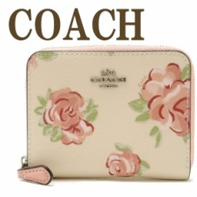 コーチ 財布 COACH 二つ折り 財布 レディース 花柄 ピンク 67511SVOE7 ブランド 人気