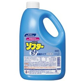 (まとめ) 花王 ソフター1/3 濃縮タイプ 業務用 2.1L 1本 【×3セット】