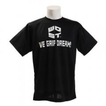 エックスティーエス(XTS) ドライプラス メッセージTシャツ 751G9ES1008 BLK(Men's)