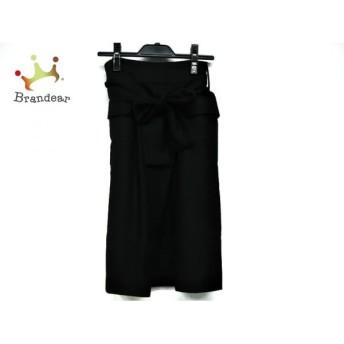 トゥモローランド TOMORROWLAND スカート サイズ36 S レディース 美品 黒 スペシャル特価 20190905
