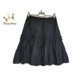 アンナモリナーリ ANNA MOLINARI スカート サイズI 38D 32 レディース 黒   スペシャル特価 20190902