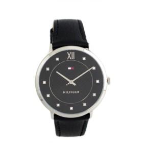 トミーヒルフィガー TOMMY HILFIGER 腕時計 レディース 1781808 クォーツ ブラック ブラック