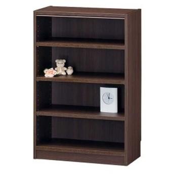 オープンラック/ボックス 木製 ブラウン 幅59×高さ90 【Tanalio】タナリオ TNL-9059DK【代引不可】