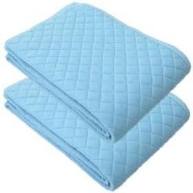 BL 2枚セット クールパッドシーツ プラウド ネットオリジナル シングルサイズ 100×205cm 敷きパッド シキパッド しきぱっど ひんやり クール 冷感 涼感 接触冷感 寝具 暑さ対策 夏 2枚セット