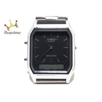カシオ CASIO 腕時計 AQ-230 メンズ 黒 新着 20190525