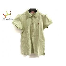 パーリーゲイツ 半袖ポロシャツ サイズ0 XS レディース 美品 ライトグリーン×ピンク   スペシャル特価 20190902