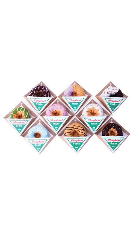 吳福洋-食尚美味造型襪-甜甜圈造型(童)